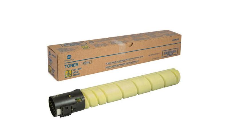Тонер TN-512Y жлтый для Konica Minolta bizhub C454 C554 A33K252