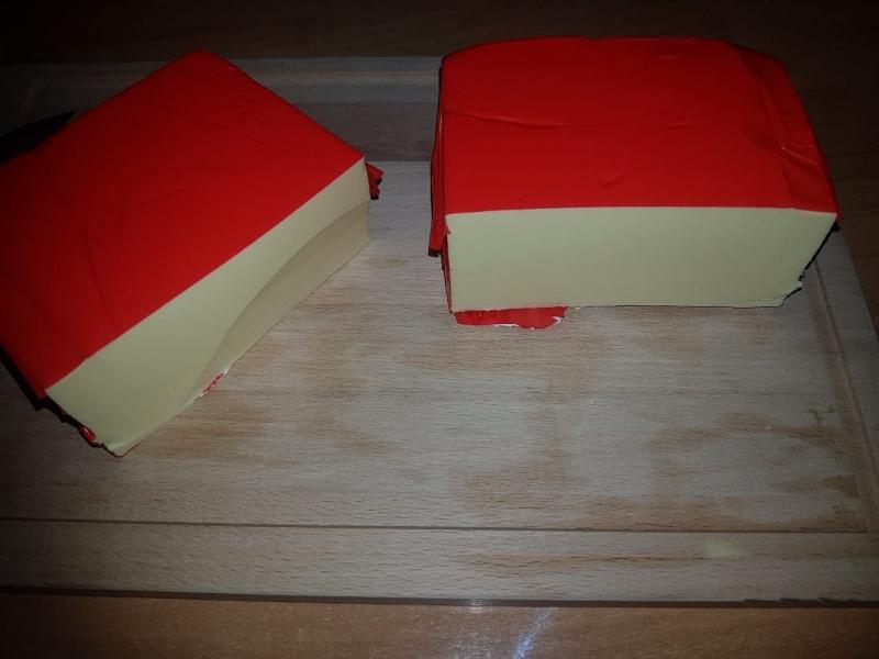 Сырный продукт плавка