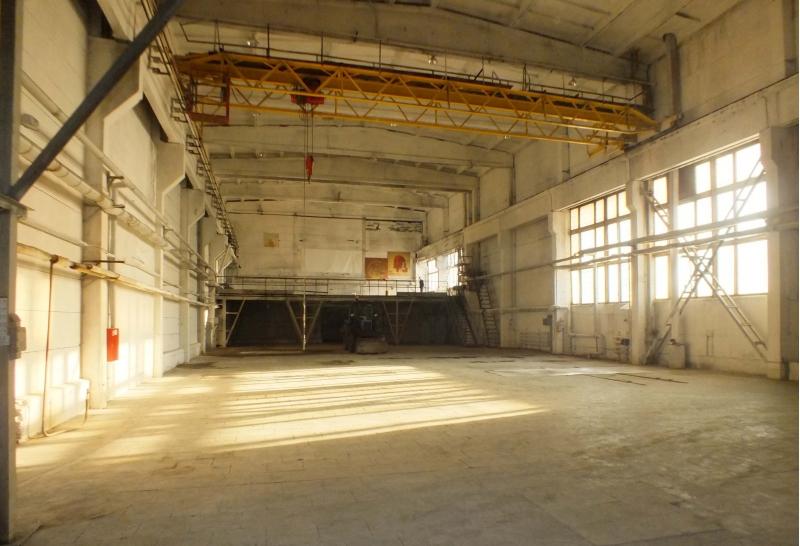 Производственное помещение с кран-балкой, 1685 кв.м