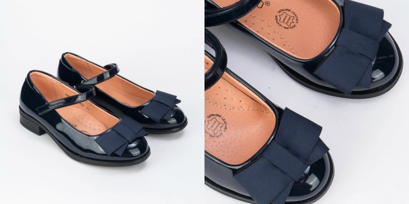Новые детские туфли с бантами